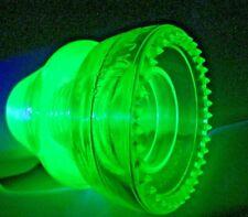 SDP Fluorescing   NAJ Hemingray 19 Vaseline Glass insulator  VVNM / MINT