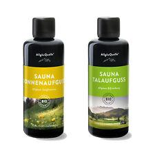 Sauna-Aufguss-Set AllgäuQuelle BIO-Öle 2x100ml Duft Lemon-Grass Orange Bergamott