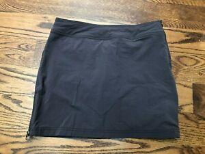 Athleta Jenner Skort in Slate Women's Size 4 Style 983363 Purple Gray