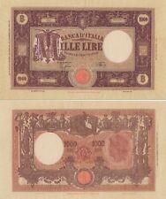 80430e8f37 1942 Italia Banconota Lire 1000 Grande M D.M. 12-12-1942 Rara 2 Buona