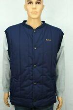 """Barbour Trekker Body-Warmer Waistcoat Size XL 24"""" ptp Blue"""
