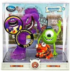 Monsters University Art & Mike Motorized Figures Disney Exclusive Box 39 Set