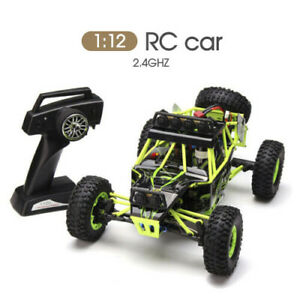 NEW 12427 1/12 4WD 2.4GHZ Crawler CLimbing OFFROAD RC Car With LED Light RTR