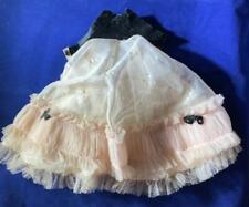 """vintage 1958 Pink/Black dress only Formal for 14"""" Betsy McCall velvet & taffeta"""