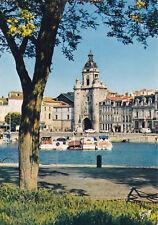 The Big Clock La Rochelle France Postcard Unused VGC