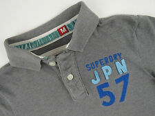 R2494 SUPERDRY POLO SHIRT TOP ORIGINAL PREMIUM size M
