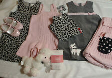 Gymboree Tres Fabulous 3 3T Lot New Dress Top Tights Cape Clips Set Hat Used