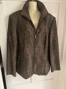 GERRY WEBER Designer Ladies Jacket - Size UK 16