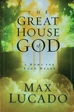 The Great House of God by Max Lucado (1997, Hardcover) christian bible fiction