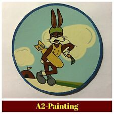 WW2 Hand Painted 324th Bomb Sqd. Leather Patch (Memphis Belle Sqd) For A2 Jacket