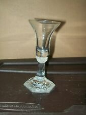 """CORDIAL GLASS / CLASSIC ROSE PATTERN / ROSENTHAL GROUP / GERMANY / 5.25""""(H)"""