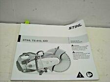 Stihl Ts410 Ts420 Cut Off Saw Owners Operator Instruction Manual 2019