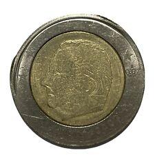 2 EURO ? -  EURO- BELGIO- RARO- ERRORE DI CONIO - 5.4.2