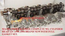 FORD RANGER WL Mazda B2500 Bongo 2.5 td completo testata periodo 1998-2006