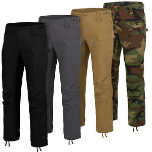 Pantalon Tactique Helikon Tex SFU Mk2 Next Combat Pantalon Cargo Military Noir