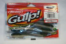 "Berkley Gulp 4"" Emerald Shiner Minnow Soft Plastic Fishing Bait Fresh/Saltwater"