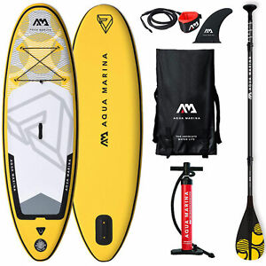 Aqua Marina Vibrant 8'0'' Sup Isup Stand Up Paddle Planche pour Barbotter Neuf