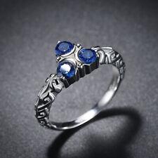 The Legend of Zelda Link Zora's Sapphire Wind Waker 925 Sterling Silver Ring