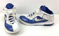Nike Lebron Soldier V Basketball Shoes 454141-103 Mens Size 15 Blue White