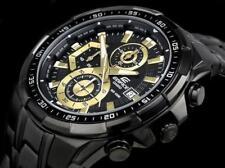 CASIO EDIFICE EFR539BK-1A EFR-539BK-1A Chronograph Black Ion Plated 100m @