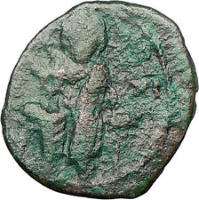 Jesus Christ Class F Anonymous Ancient 1059Ad Byzantine Follis Coin i27822