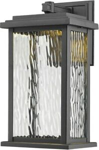 Artcraft Lighting AC9070BK Sussex Drive LED 13 inch Black Outdoor Wall Sconce