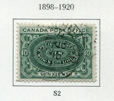 1898-1920 Canada.  Special Delivery.  10c deep green USED.  SG S2.  CV £16.