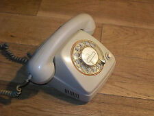 VINTAGE TéLéPHONE à CADRAN RTT70B BELGIQUE 1970