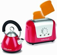 Morphy Richards Kettle & Toaster Play Set Toy Toast Lets Pretend Kitchen Set NEW