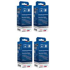 4 x Entkalkungstabletten 310967 Bosch Siemens Neff TCZ6002 Entkalker Tabs NEU