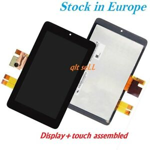 TESTED LCD Display + Touch Screen For ASUS Memo Pad ME172V K0W Black New Assembl