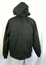 PRIMARK Mens Size XL Black Full Zip Hooded Heavy Winter Jacket
