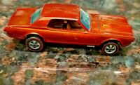 HOT WHEELS VINTAGE ORIGINAL REDLINE 1967 CUSTOM COUGAR HONG KONG ORANGE