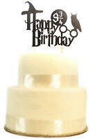 Happy Birthday Harry Potter Cake Topper Bunting Party Decoration Anniversary