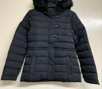 Women Camaieu hood puffer Jacket Waterproof Insulated Winter Ladies RRP£55 BR195