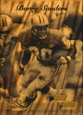 1995 Select Certified Gold Team Detroit Lions Football Card #6 Barry Sanders