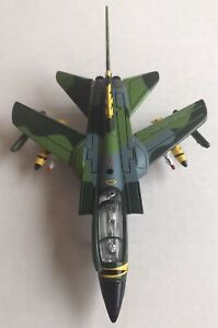 """Panavia Tornado German Airforce Realtoy Diecast Model Airplane 6"""" Expanded Wing"""