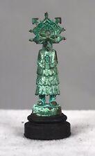 Daniel Kronberg Bronze Dollhouse Miniature - Native American Kachina Doll 4