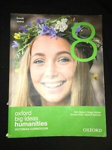 Oxford Big Ideas Humanities 8 Victorian Curriculum Student Book Free Postage
