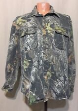 06f160d429629 Cabela's Outdoor Gear LG. REG Real Tree Camo 100% Cotton Hunting Button Up  Shirt