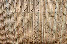 Peeled Willow Garden Screening Fencing Rolls 1.2M Tall and 3.8M Long