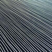50s 60s Marimekko Heals era vtg retro black white Scandinavian fabric remnants