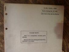 John Deere 658H Chisel Plow Parts Catalog Manual Book Original Pc-492
