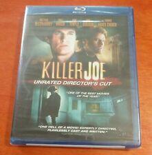 Killer Joe Unrated Director's Cut Blu-ray Matthew McConaughey  Emile Hirsch
