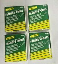4 Boxes Fletcher 08-950 FrameMaster Framer's Points (3000 Each Box)