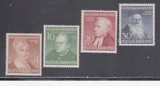 GERMANY STAMPS #B327-B330 -- COMPLETE SET -- 1952 -- MINT