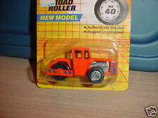 MATCHBOX  #40 ROAD ROLLER NEW MODEL 1/64 MIP 1990 FREE USA SHIPPING