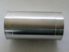 Air intake pipe 3.25 OD x 6 straight wall heavy tube aluminum undercut ends