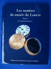 OROLOGI-CARDINAL-CATALOGUE DES MONTRES DU MUSEE DU LOUVRE-COLLECTION OLIVIER....
