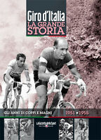 Book The Big Story Of Giro D'Italia 1951-1955 All Years By Coppi And Magni